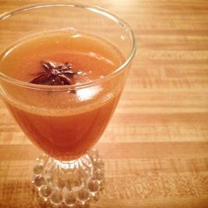 Buttered Bourbon Cider